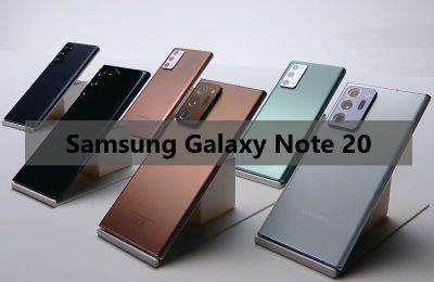 Info Terupdate Samsung Galaxy Note 20